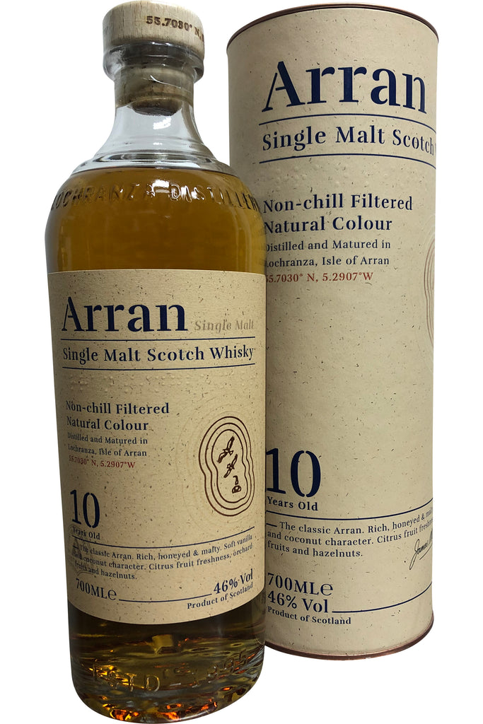 Arran 10 Year Old Non Chill Filtered | 46% 700ml