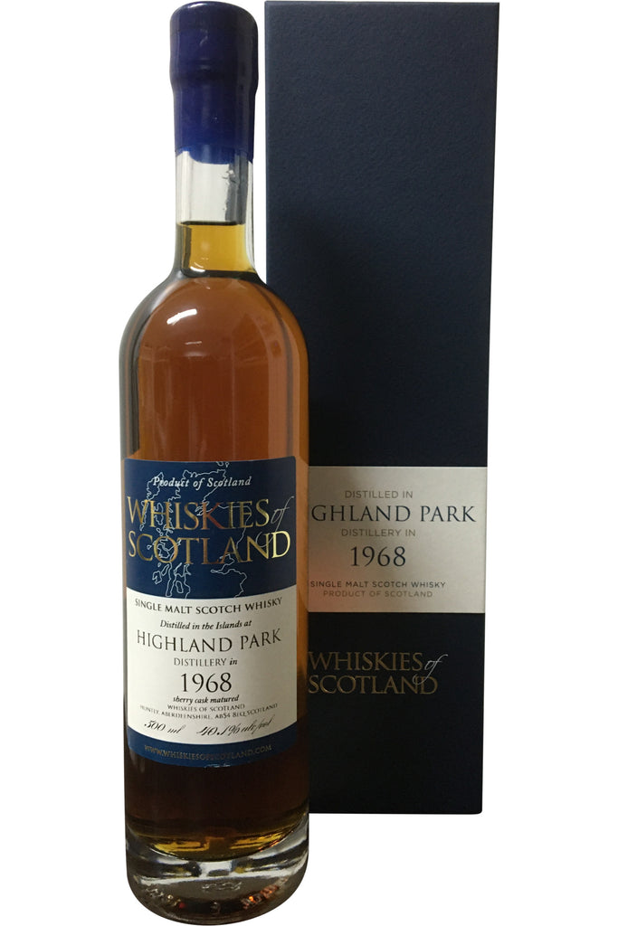 Whiskies of Scotland Highland Park 1968 - 40.1% 500ml - Award Winning  Whisky