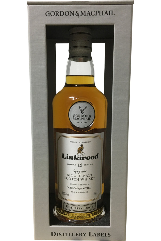 Gordon & Macphail Linkwood 15 Year Old Distillery Labels - 43% 700ml  Whisky