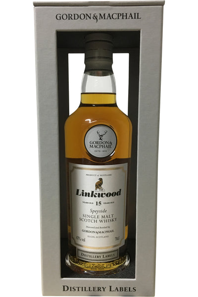 Gordon & Macphail Linkwood 15 Year Old Distillery Labels - 43% 700ml