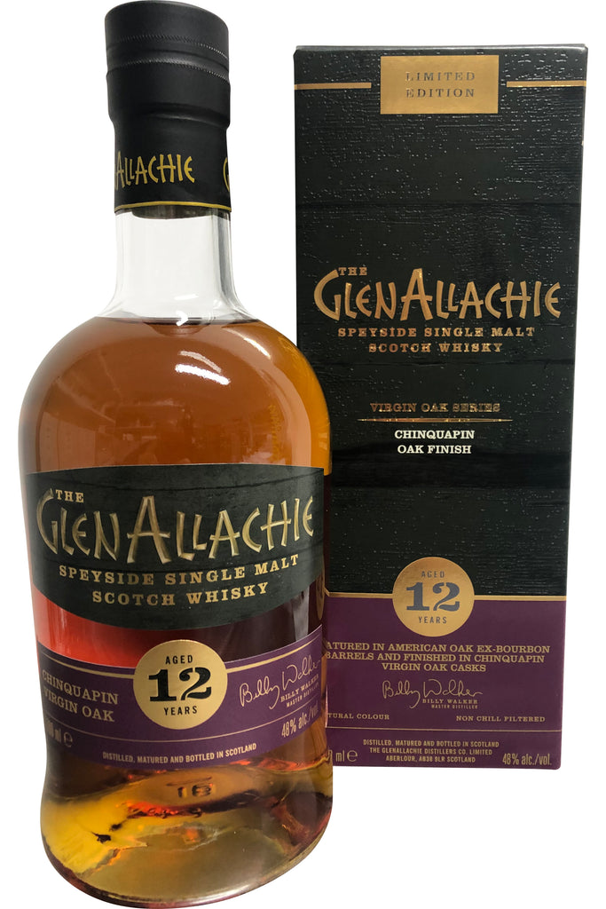 Glenallachie 12 Year Old Chinquapin Oak 48% 700ml  Whisky