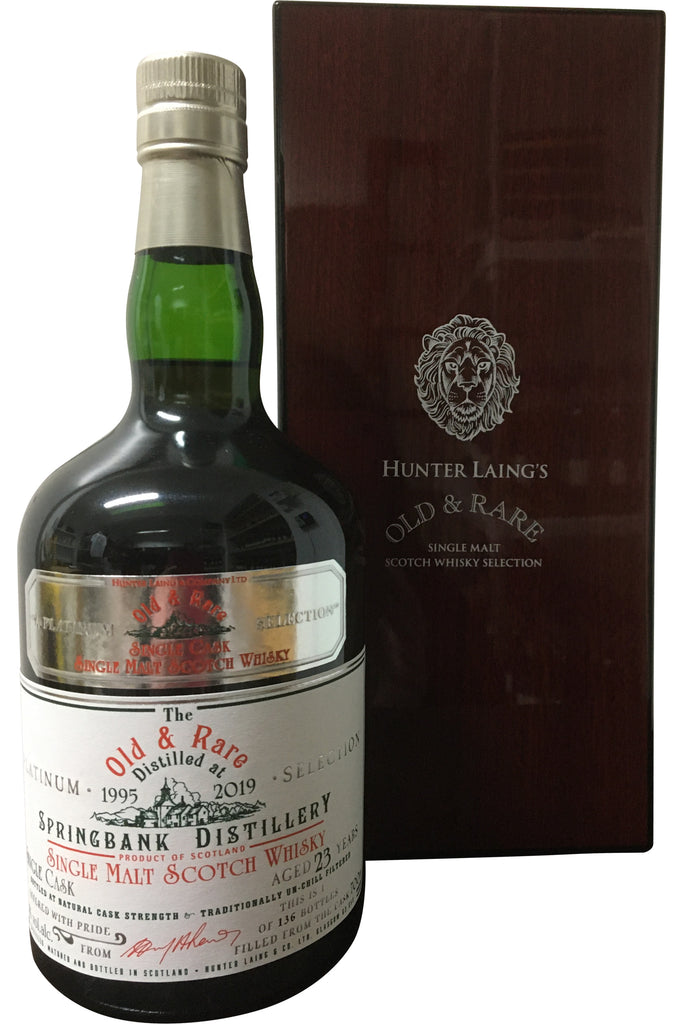 Hunter Laing's Springbank 23 YO Old & Rare Single Cask | 52.2% 700ml