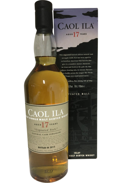 Caol Ila 17 Year Old 2015 Unpeated | 55.9% 700ml
