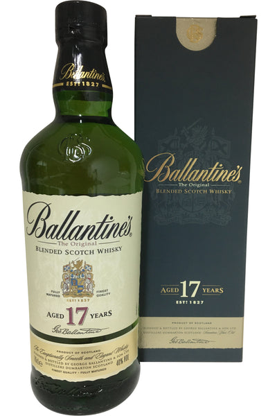 Ballantines 17 Year Old Blended Whisky - 40% 700ml