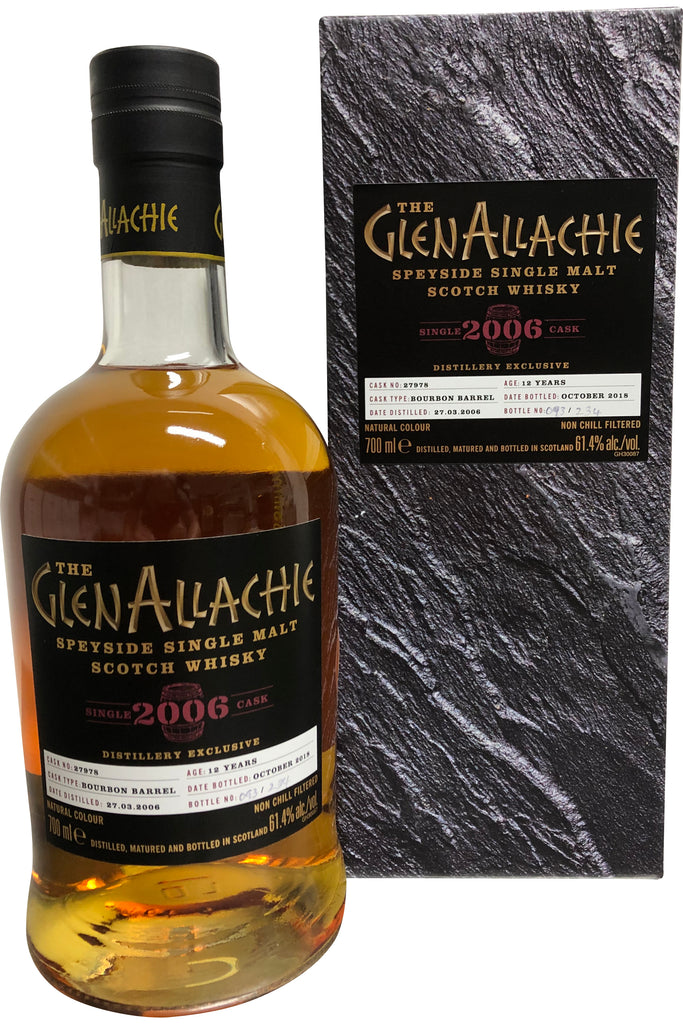 Glenallachie 2006 12 Year Old #27978 Distillery Exclusive 61.4%  Whisky