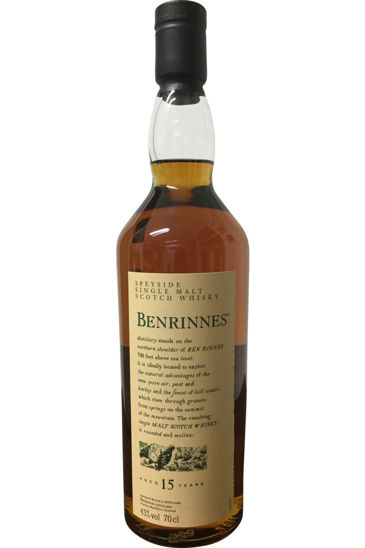 Benrinnes 15 Year Old Flora & Fauna | 43% 700ml
