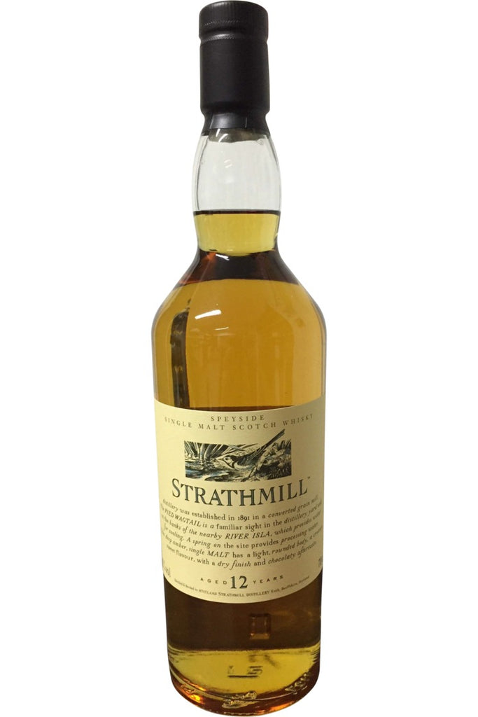 Strathmill 12 Year Old Flora & Fauna 43% 700ml  Whisky