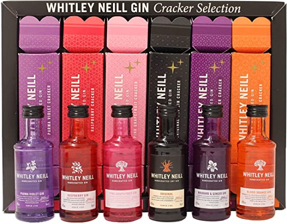 Whitley Neill Christmas Crackers | 6x50ml 43%