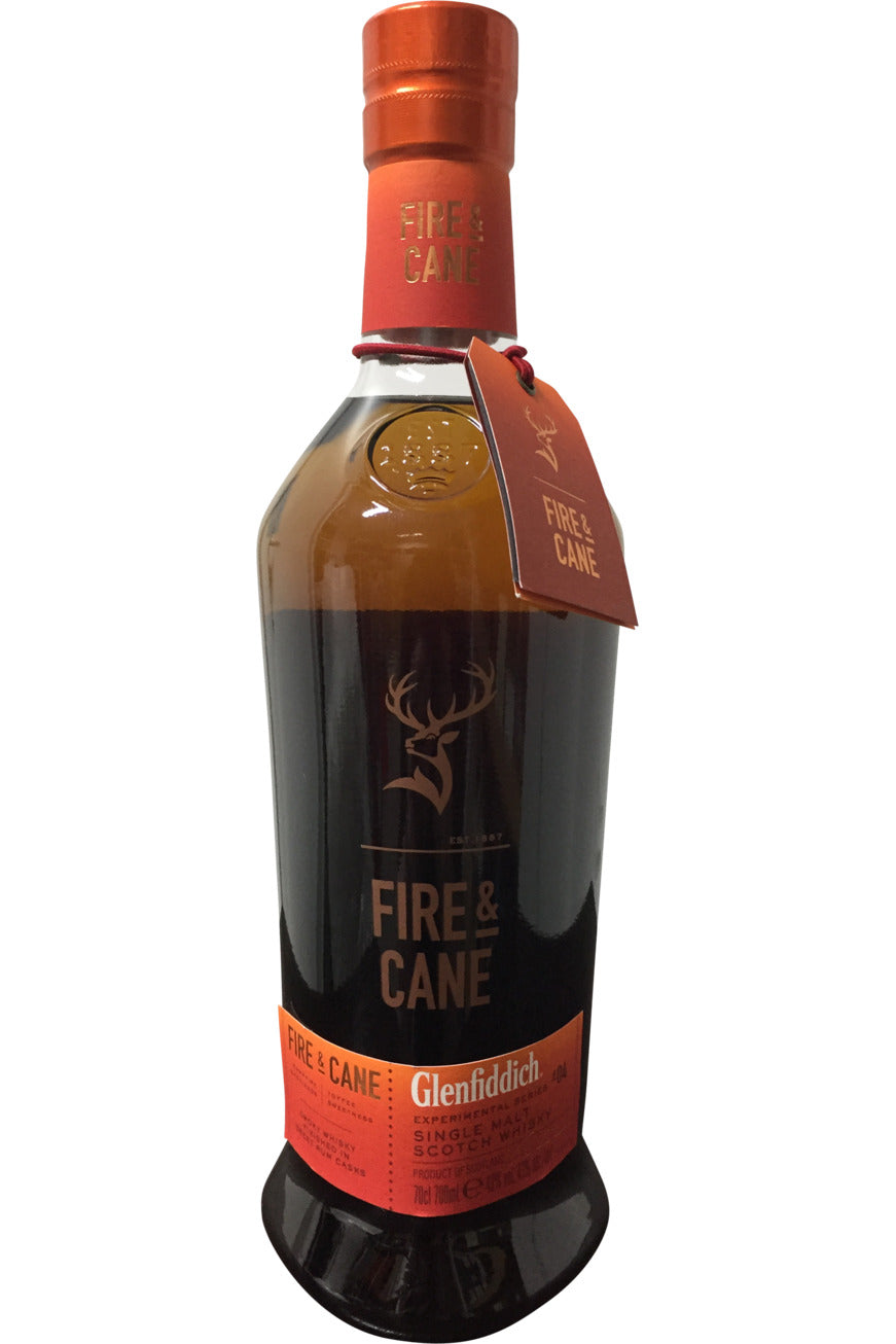 Glenfiddich Experimental Series Fire & Cane Whisky - 43% 700ml
