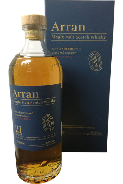 Arran 21 Year Old | 46% 700ml