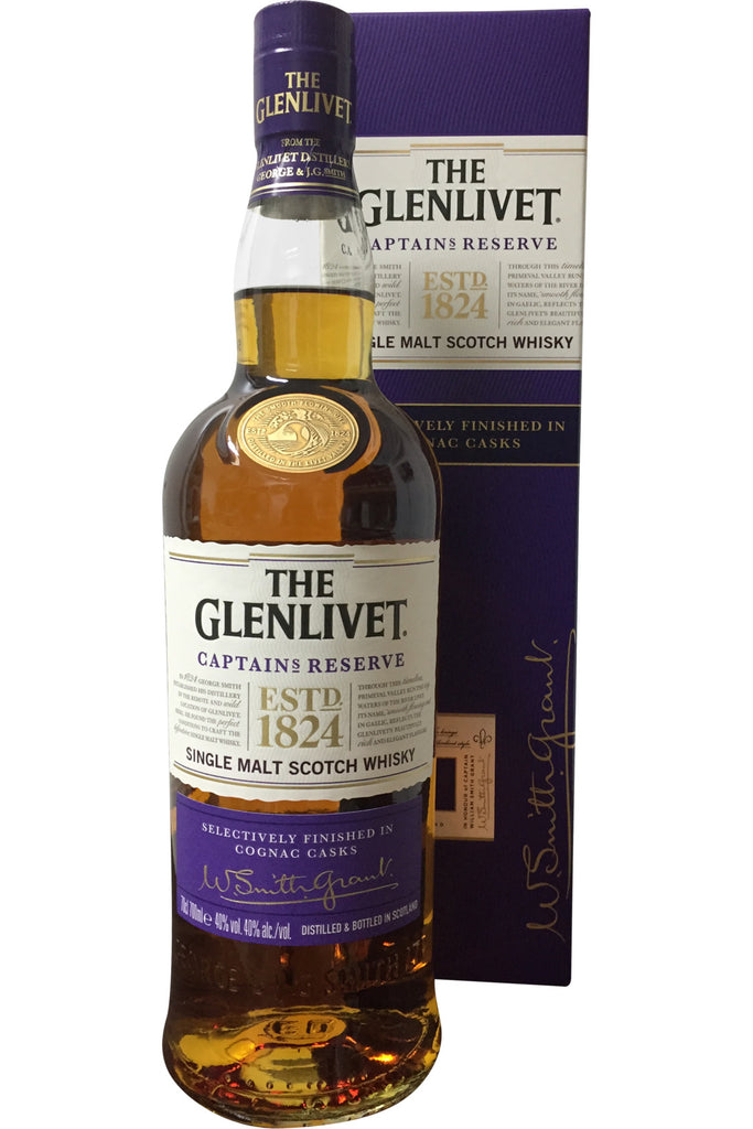 The Glenlivet Captain's Reserve Whisky - 40% 700ml  Whisky