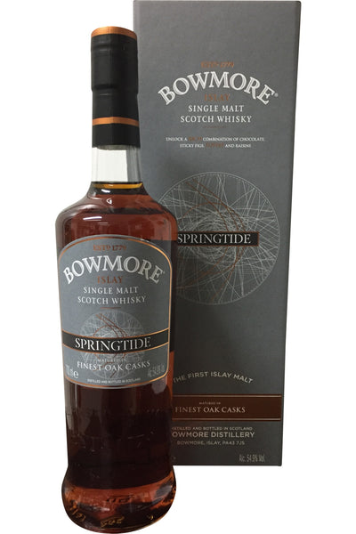 Bowmore Springtide Whisky - 54.9% 700ml