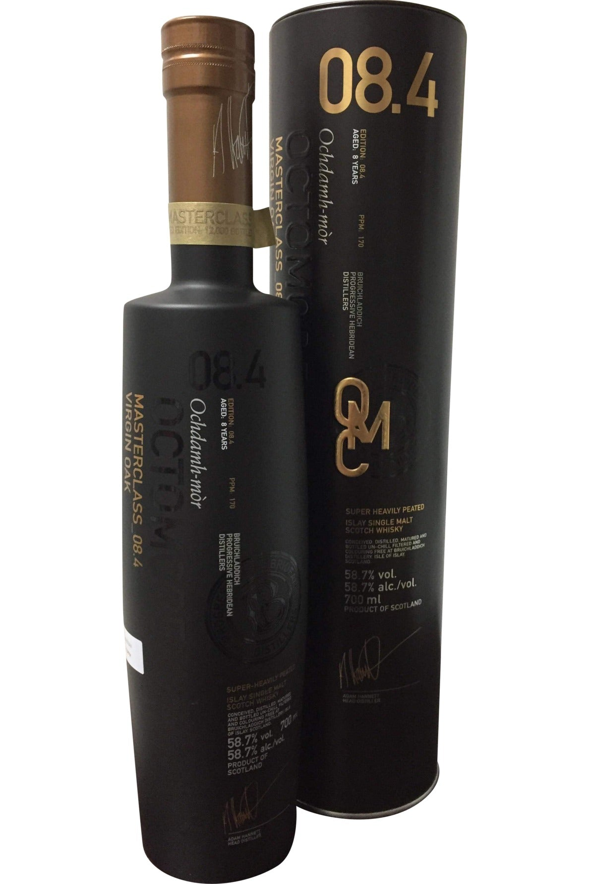 Bruichladdich Octomore Masterclass_08.4 Virgin Oak - 58.7% 700ml