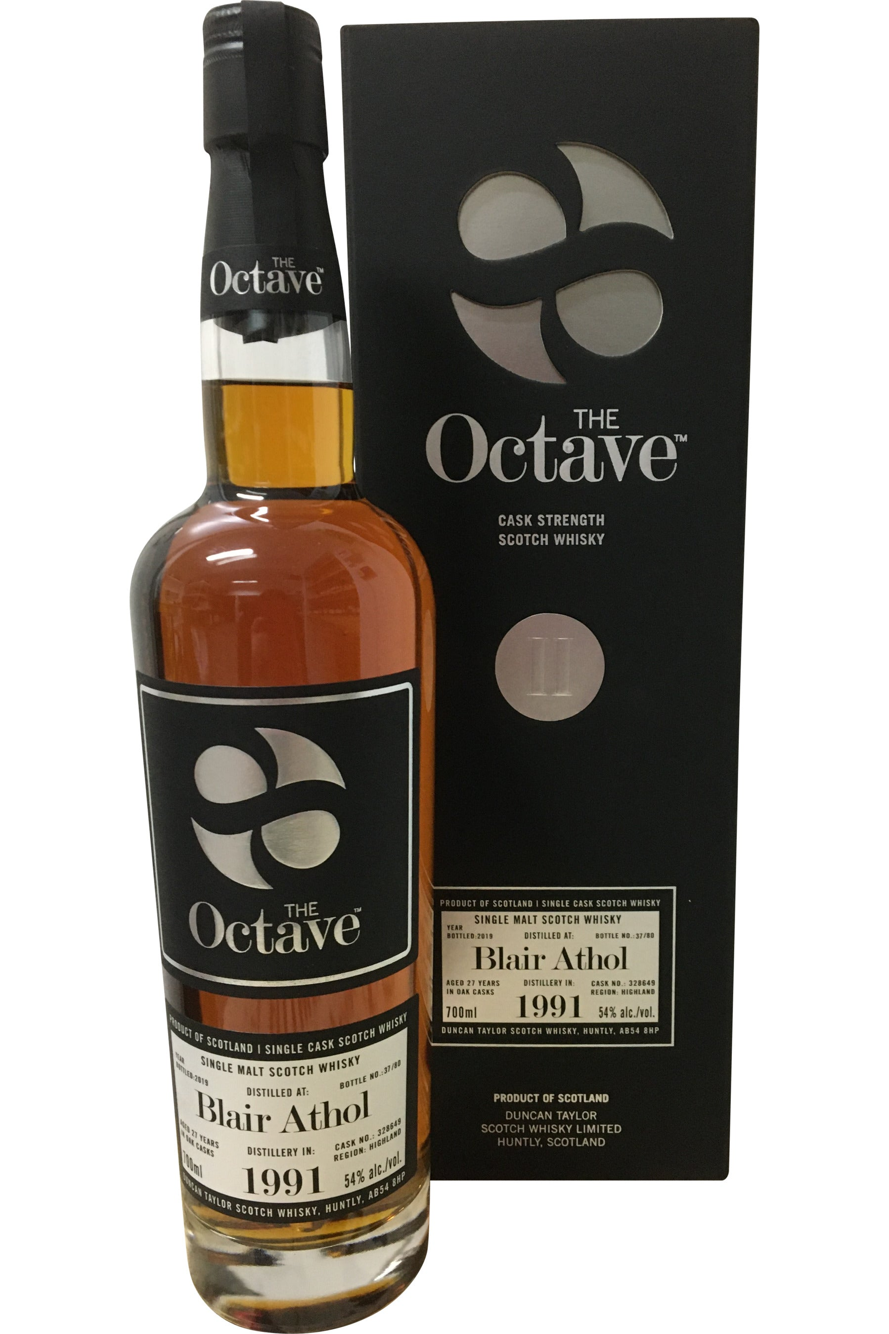 The Octave Premium Blair Athol 1991 27 Year Old #328649 Whisky - 54% 700ml