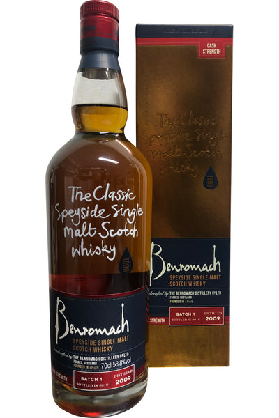 Benromach Cask Strength Vintage 2008 Batch 1| 700ml 58.8%