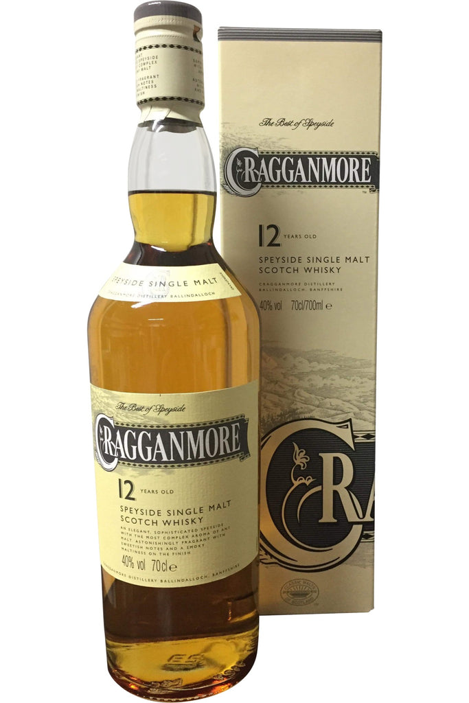 Cragganmore 12 Year Old - 40% 700ml  Whisky