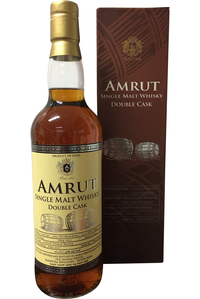 Amrut Double Cask 2017 Edition - 46% 700ml  Whisky