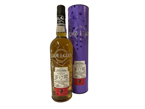 Glen Elgin 17 Year Old Ruby Port Finish Lady Of The Glen - 55.7% 700ml