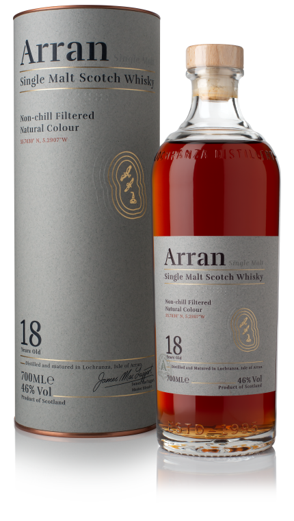 Arran 18 Year Old | 46% 700ml  Whisky