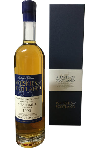 Whiskies of Scotland Strathmill 1990 | 46.0% 500ml