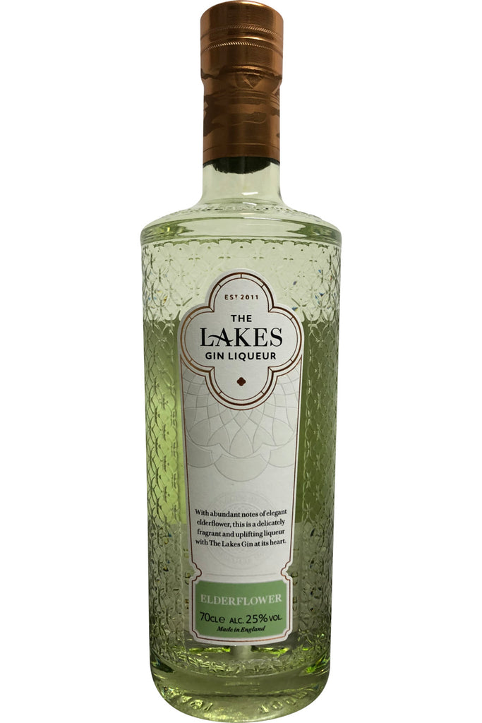 The Lakes Elderflower Liqueur Gin 25% ABV 700ml