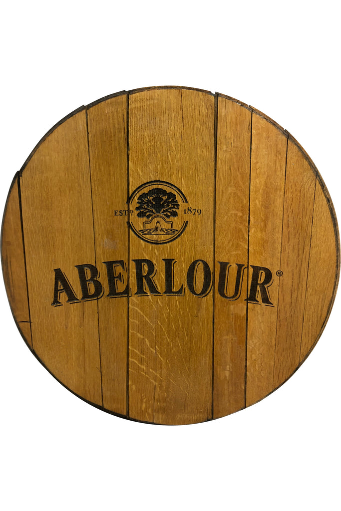 Decorative Cask End with Aberlour logo