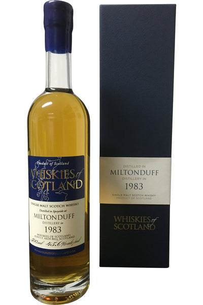 Whiskies of Scotland Miltonduff 1983 | 45.6% 500ml - Award Winning