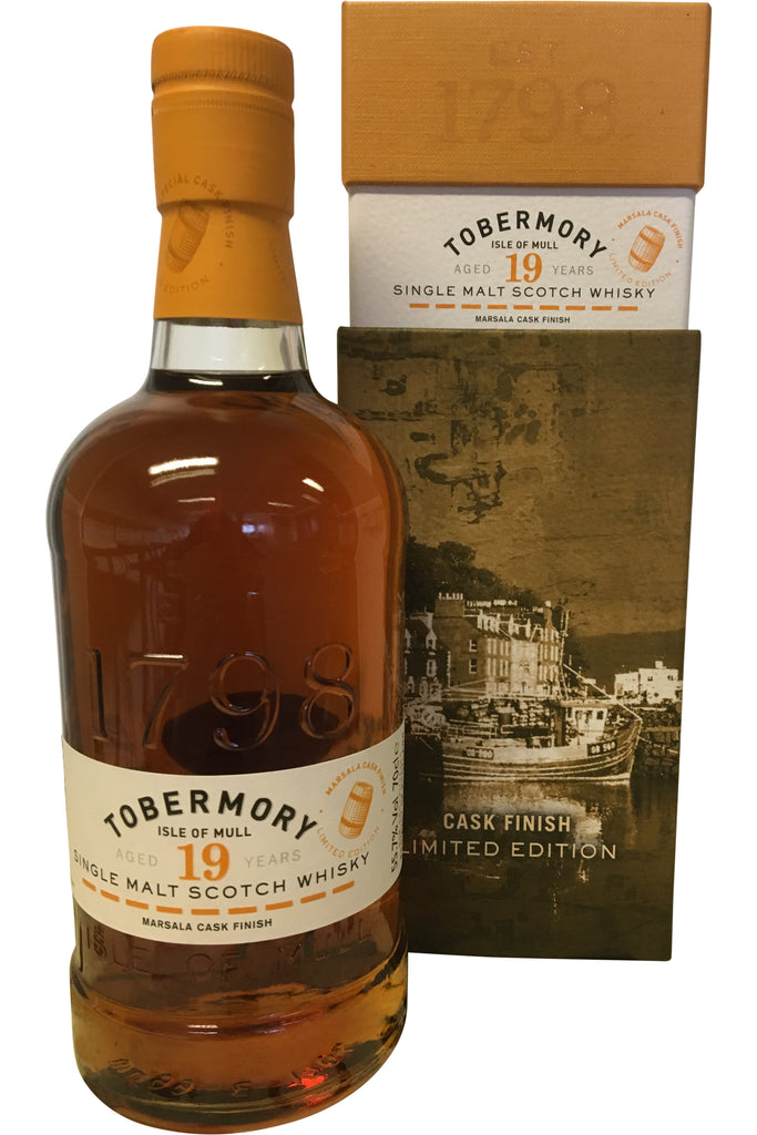Tobermory 1999 19 Year Old Marsala Cask Finish - 55.7% 700ml  Whisky