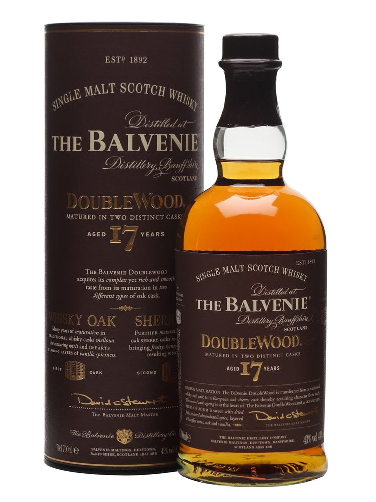 Balvenie 17 Year old Doublewood |700ml 40%  Whisky