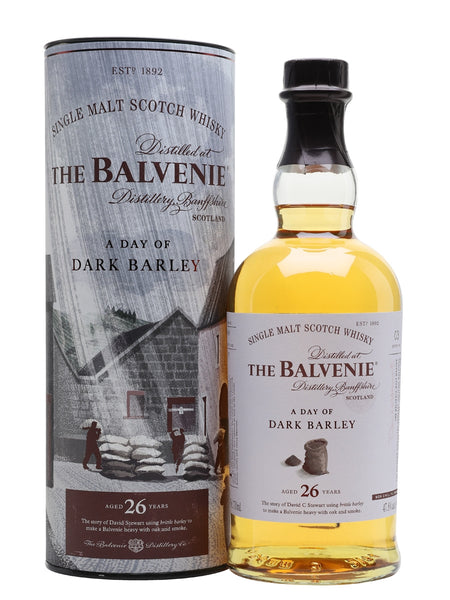 Balvenie 26 Year Old A Day of Dark Barley | 700ml 47.8%