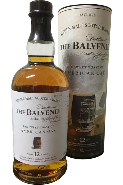 Balvenie 12 Year Old American Oak | 700ml 43%