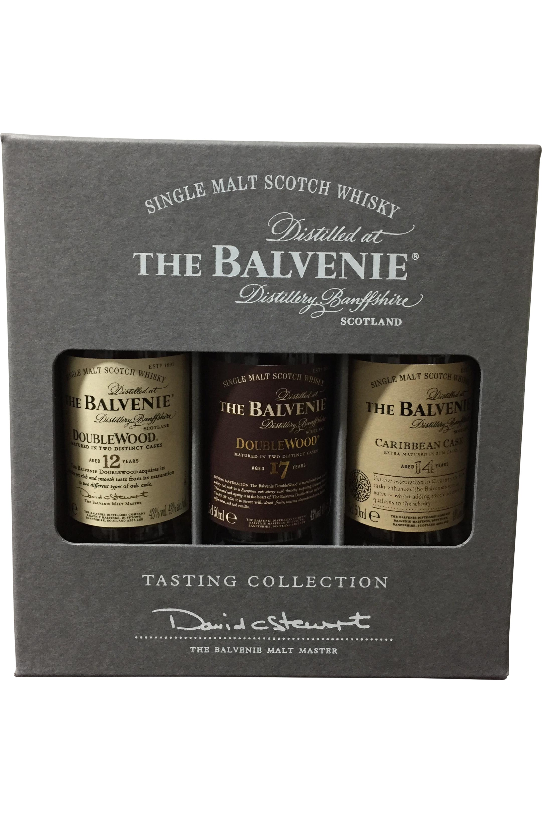 Balvenie Miniatures Gift Pack Whisky - 43% 3x50ml