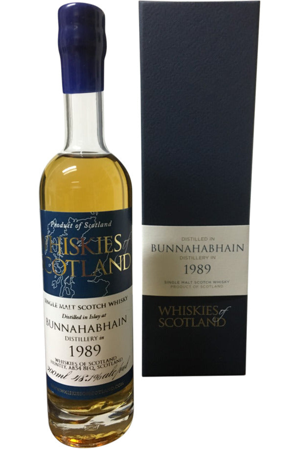 Whiskies Of Scotland Bunnahabhain 1989 - 48.1% 200ml - Award Winning  Whisky
