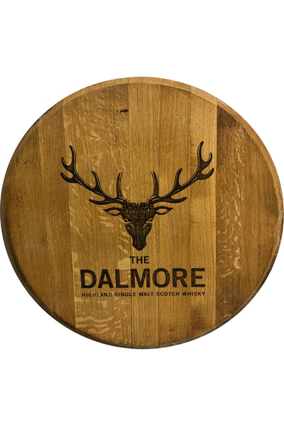 Decorative Cask End with Dalmore logo