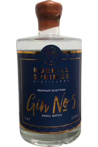 Roehill Springs Distillery Small Batch Gin - 43% 700ml