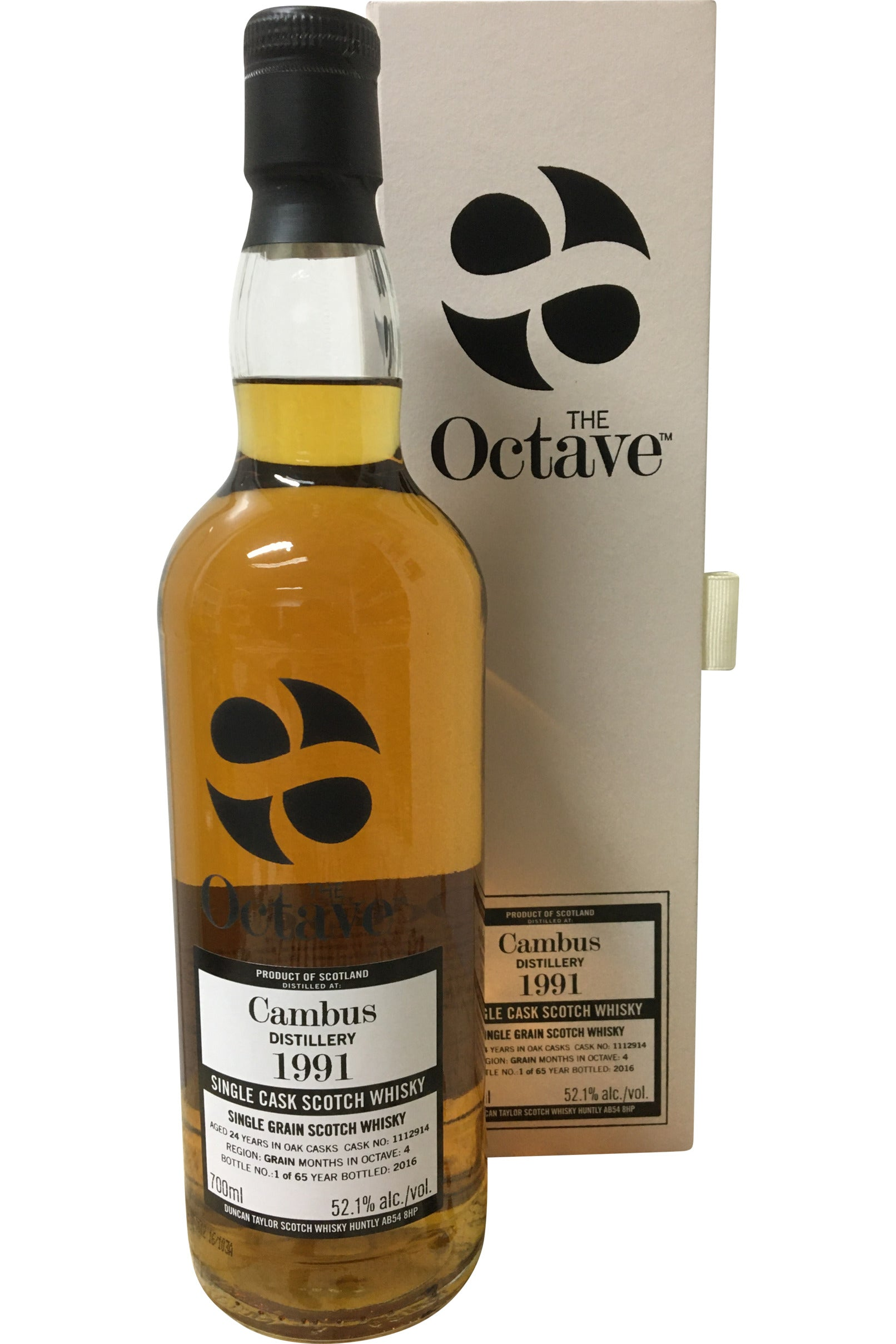The Octave Cambus 1991 24 Year Old Cask #1112914 | 52.1% 700ml