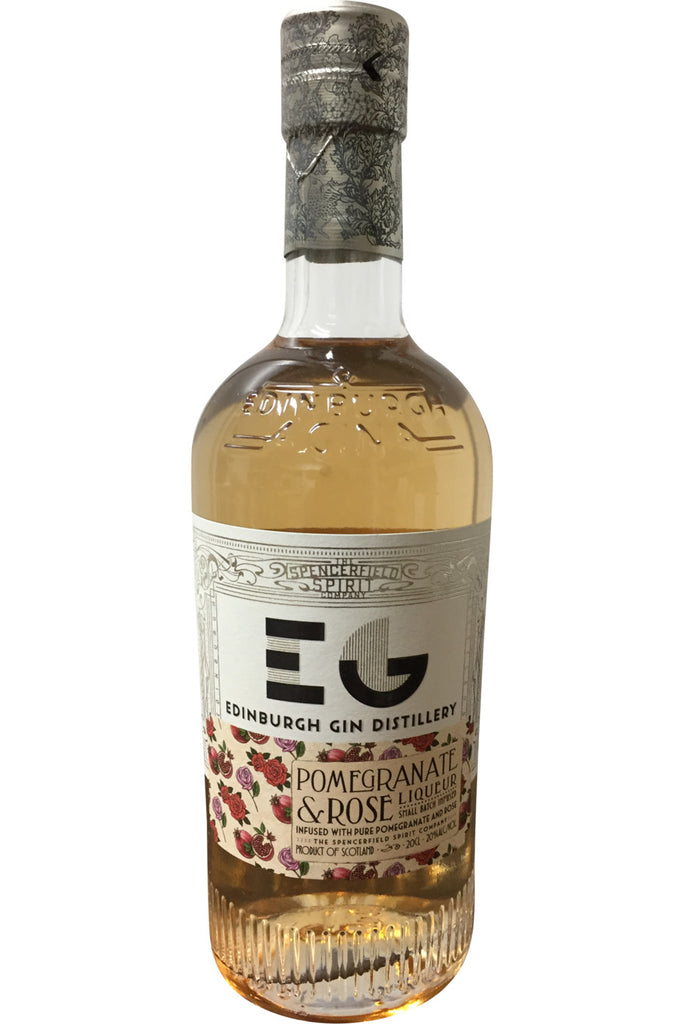 Edinburgh Gin Distillery Pomegranate & Rose Liqueur - 20% 500ml  Gin