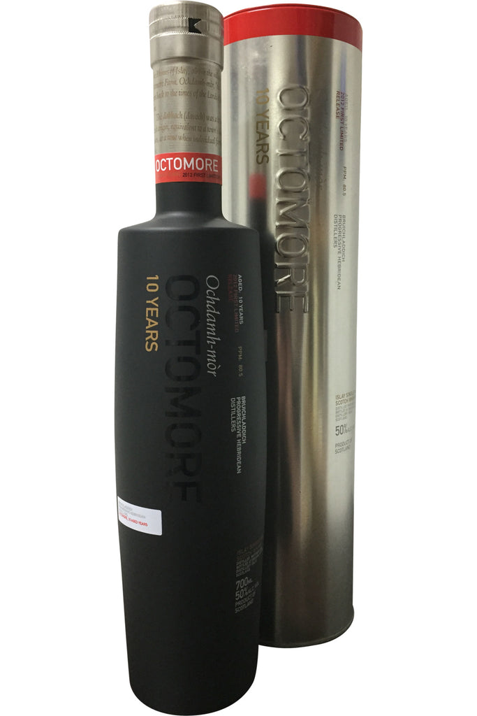Bruichladdich Octomore 10 Year Old 2012 First Limited Release 80.5ppm - 50% 700ml  Whisky