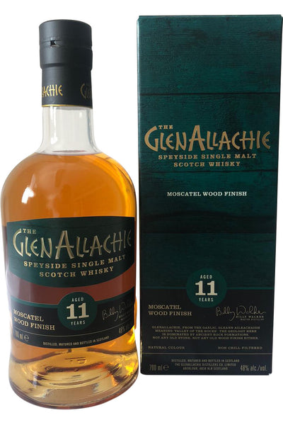 Glenallachie 11 Year Old Moscatel Finish 48% 70cl