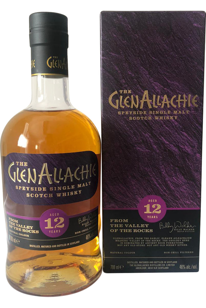 Glenallachie 12 Year Old 46% 70cl