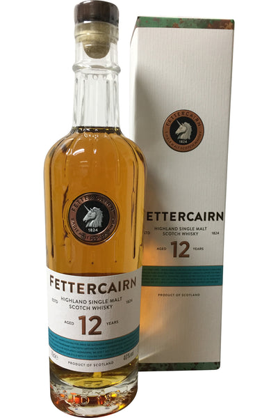 Fettercairn 12 Year Old Whisky - 40% 700ml