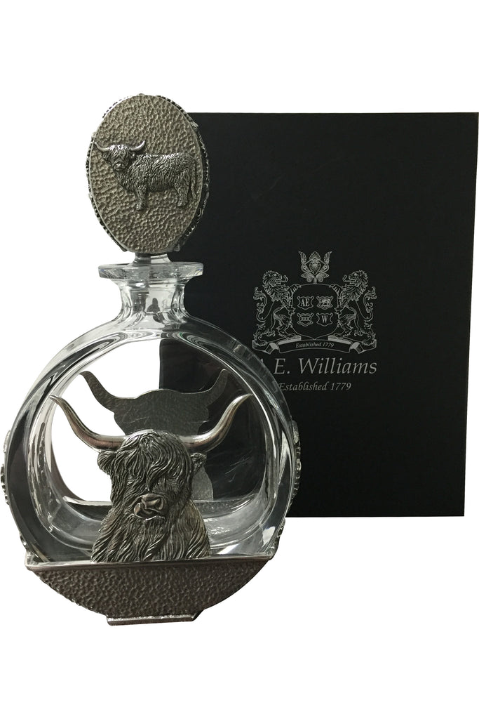 Highland Cow Decanter  Other