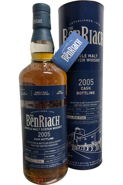 BenRiach 2005 PX Cask #5278 52.6% 700ml
