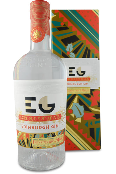 Edinburgh Gin Distillery Christmas Gin - 43% 700ml