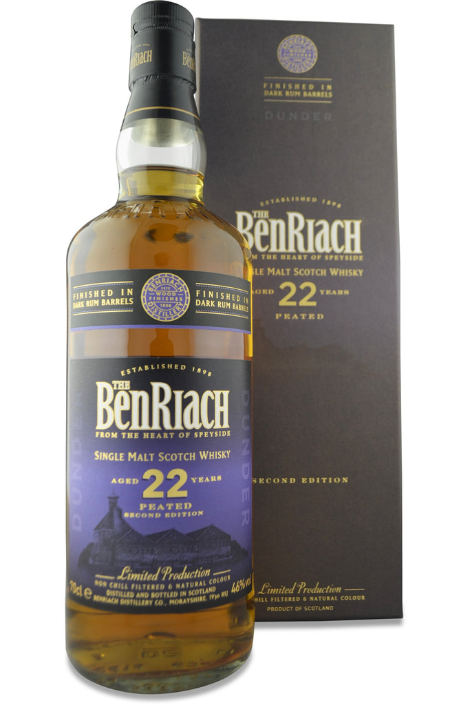 BenRiach Dunder (Dark Rum Finish) 22 Year Old | 46% 700ml  Whisky