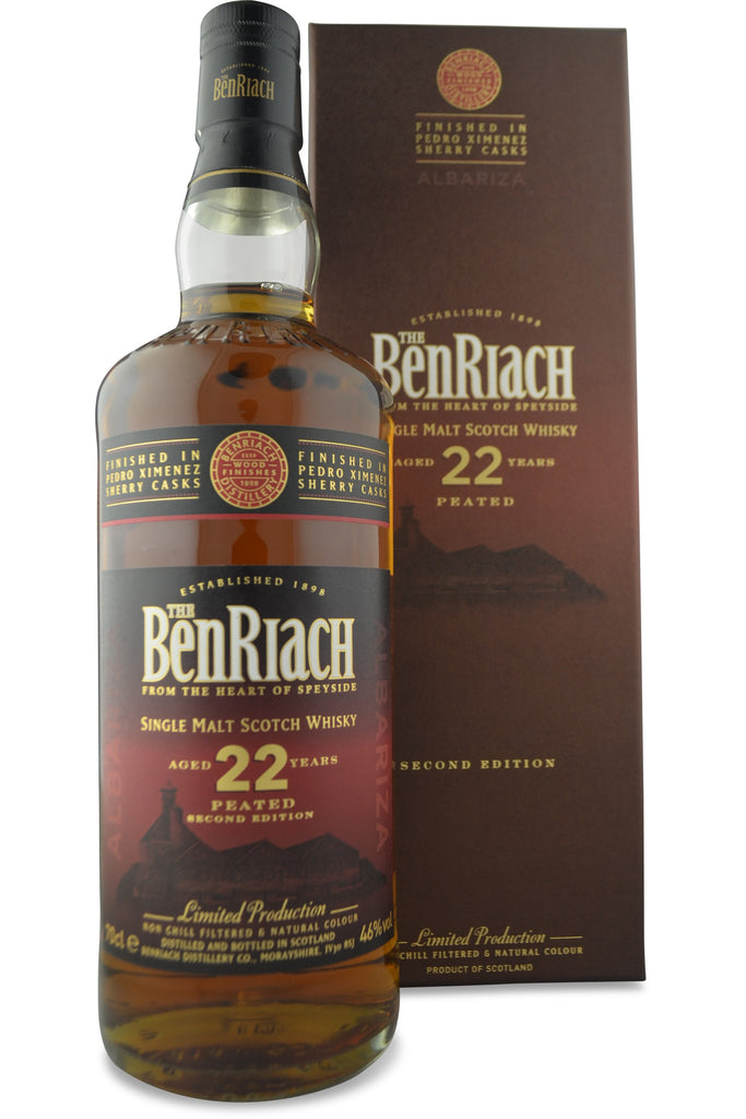 BenRiach Peated Albariza (Pedro Ximenez Sherry) 22 Year Old | 46% 700ml