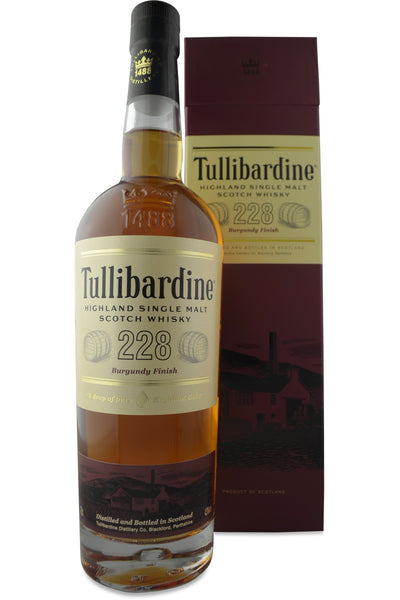 Tullibardine 228 Burgundy Cask Finish Whisky | 43% 700ml