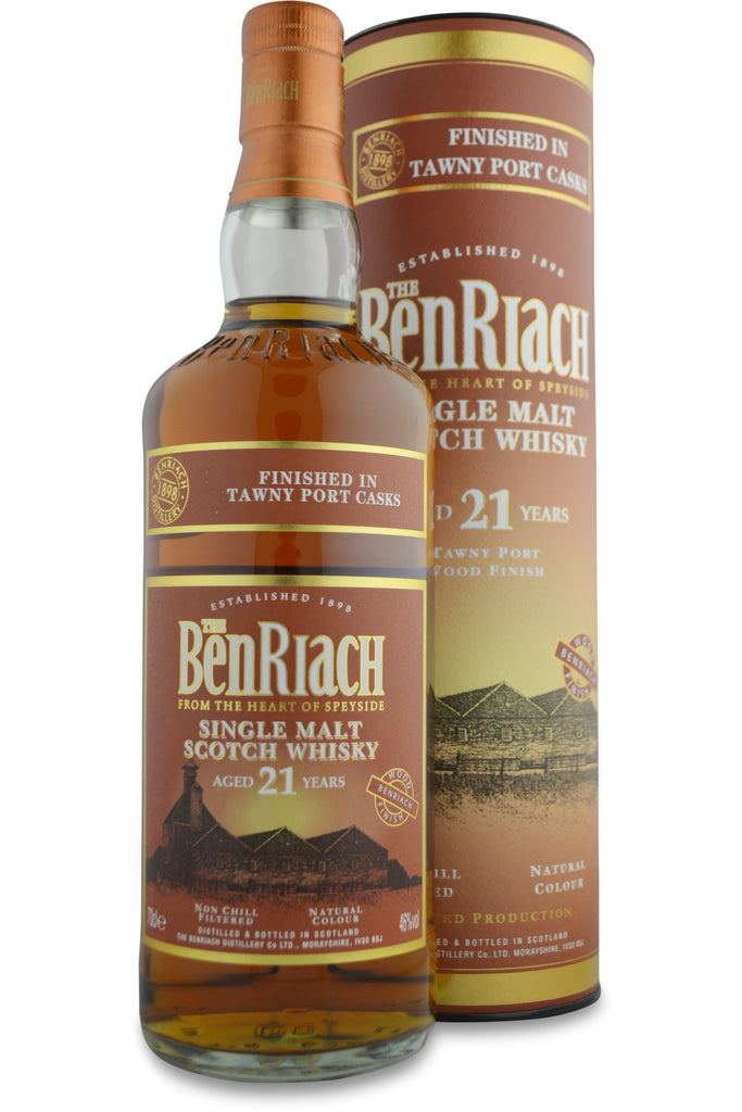 BenRiach 21 Year Old Tawny Port Cask Finish | 46% 700ml  Whisky