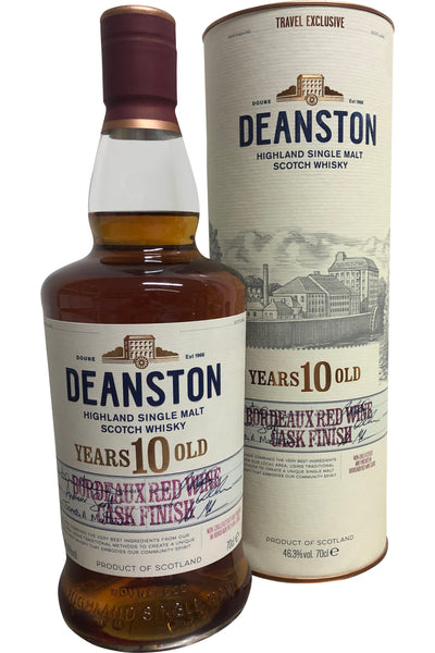 Deanston 10 Bordeaux Red Wine Cask 46.3% 700ml