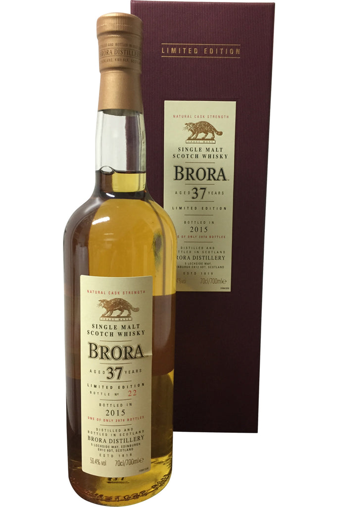 Brora 37 Year Old Limited Edition 2015 | 50.4% 700ml  Whisky